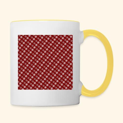 Snowflakes - Contrasting Mug