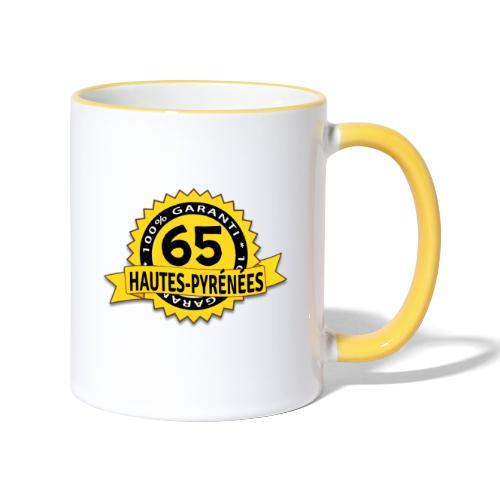 65 Hautes-Pyrénées - Mug contrasté