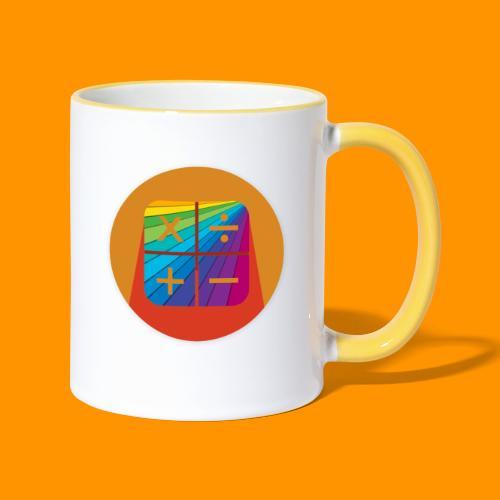 Matemáticas Sin Más Rainbow - Taza en dos colores