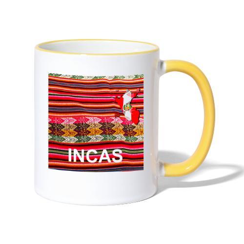 Telar inca Mapa del Peru - Mug contrasté