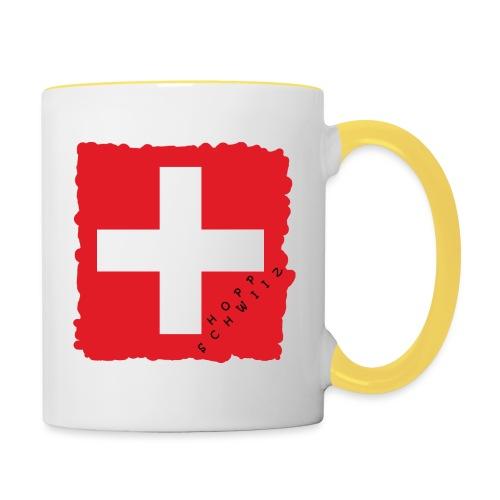 Schweiz 21.1 - Tasse zweifarbig