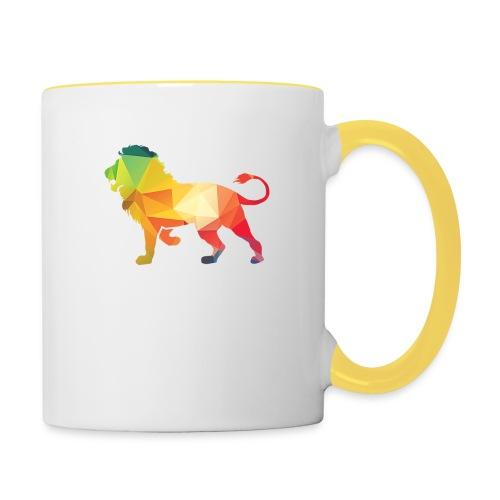 lion - Mok tweekleurig