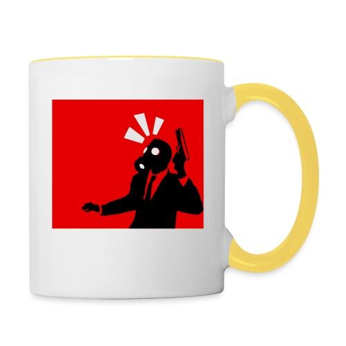 Gasmask - Contrasting Mug