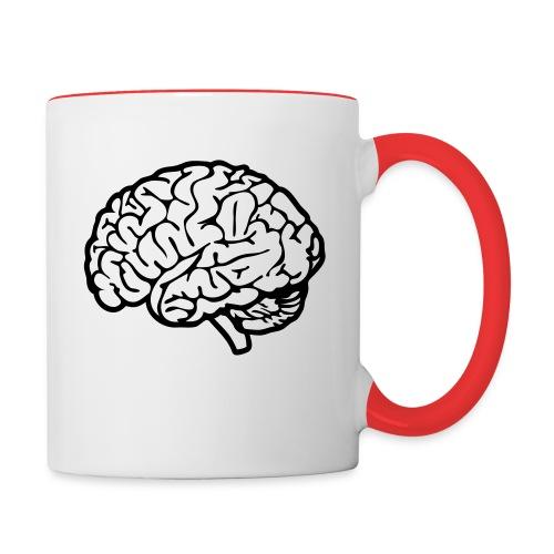 cerveau - Mug contrasté
