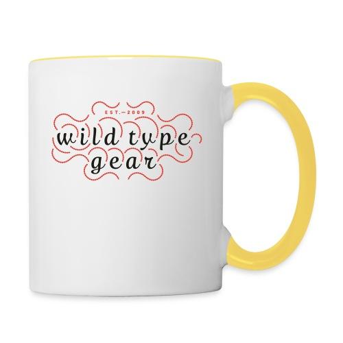 wtg stiched 2 - Contrasting Mug