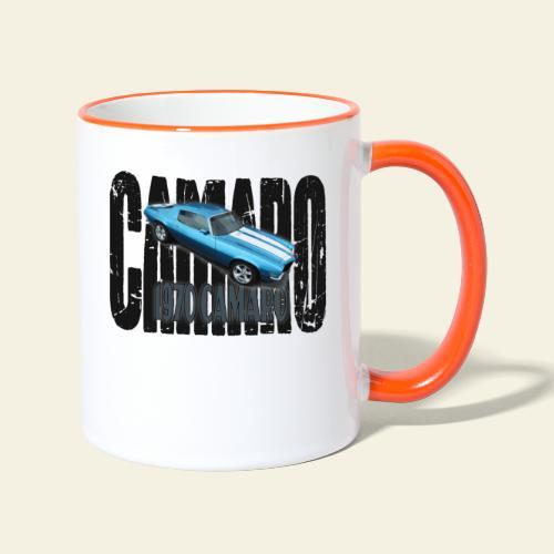 70 Camaro - Tofarvet krus