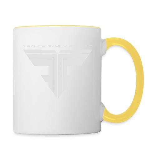 TFF Logo White - Kaksivärinen muki