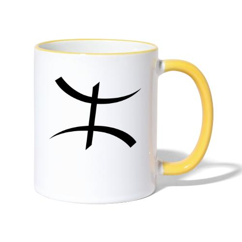 Motif Kabyle - Mug contrasté