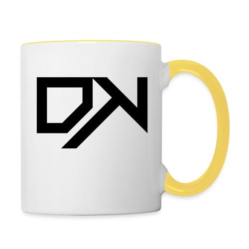DewKee Logo Samung Galaxy S4 Case Black - Contrasting Mug