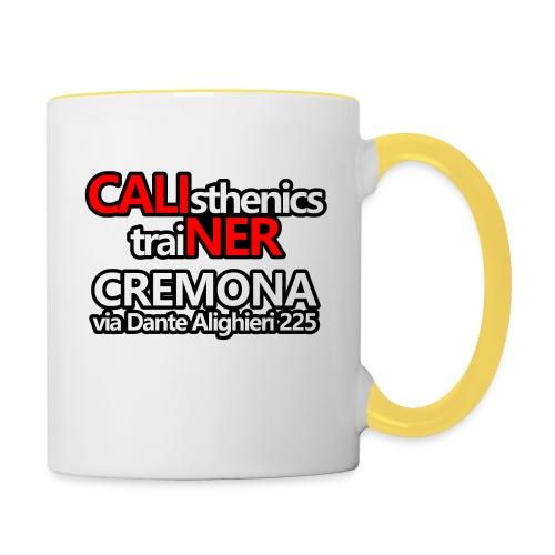 Caliner Cremona T-shirt - Tazze bicolor