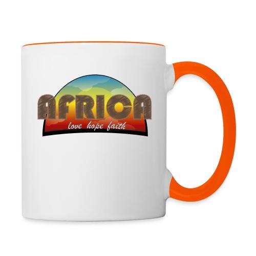 Africa_love_hope_and_faith2 - Tazze bicolor