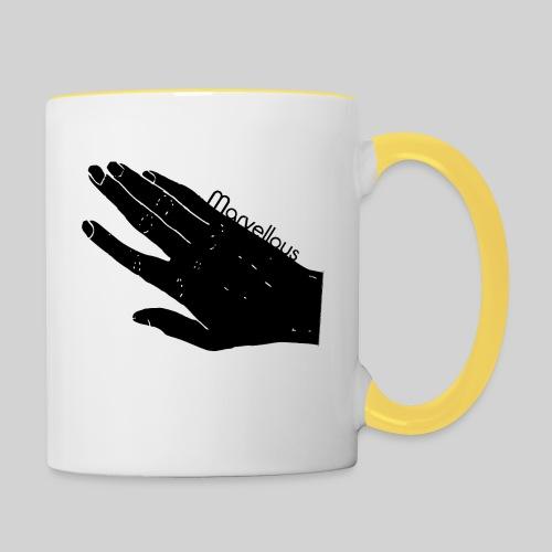 Marvellous Hand - Tasse zweifarbig