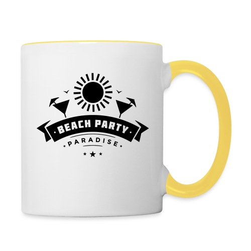Beach party paradise - Kaksivärinen muki