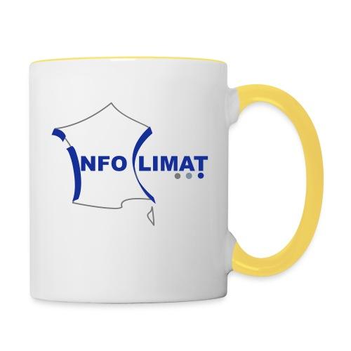 logo simplifié - Mug contrasté