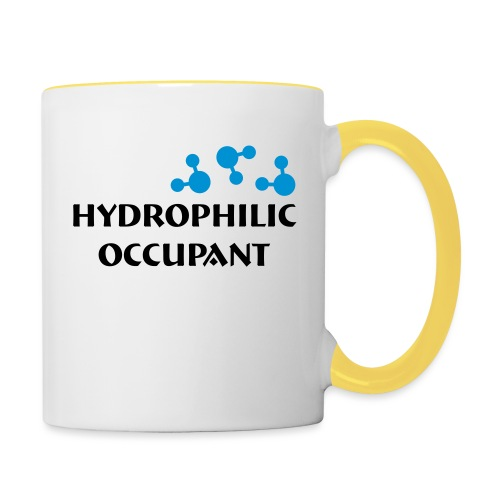 Hydrophilic Occupant (2 colour vector graphic) - Contrasting Mug