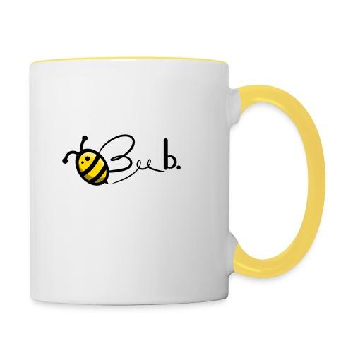 Bee b. Logo - Contrasting Mug