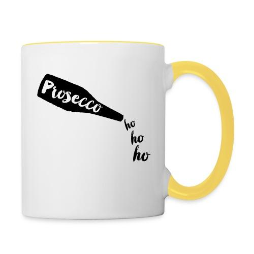 Prosecco Ho Ho Ho - Contrasting Mug