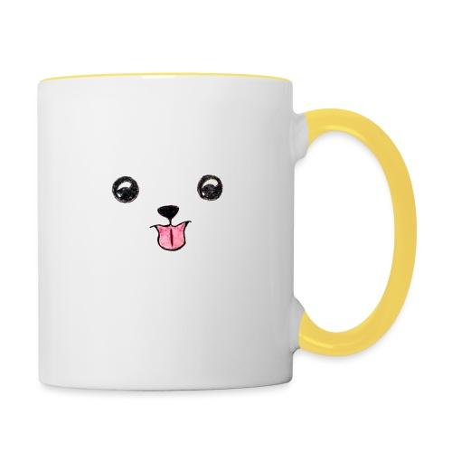 Cutie Pup - Contrasting Mug