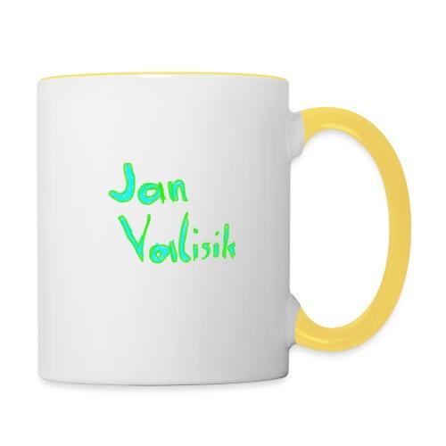 Jans Merch - Tasse zweifarbig