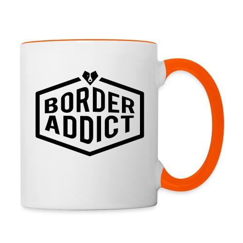 Border Addict - Mug contrasté