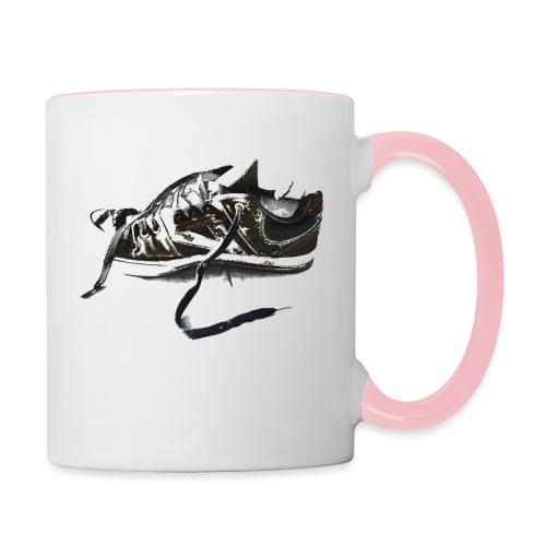 shoe (Saw) - Contrasting Mug
