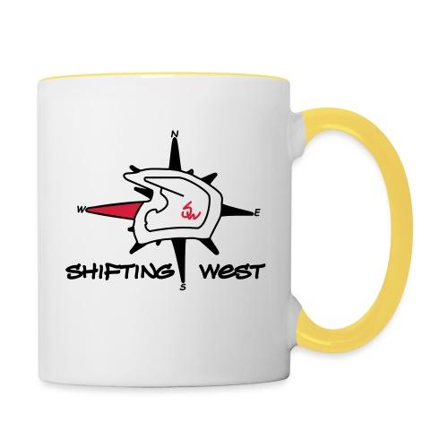 Shifting West Logo vector - Mok tweekleurig