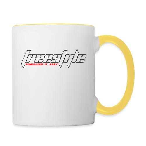 Freestyle - Powerlooping, baby! - Contrasting Mug