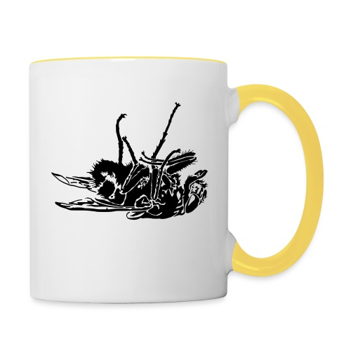 mouche morte - Mug contrasté