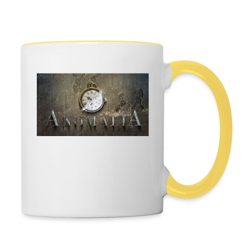 Anomalia Artwork - Tasse zweifarbig