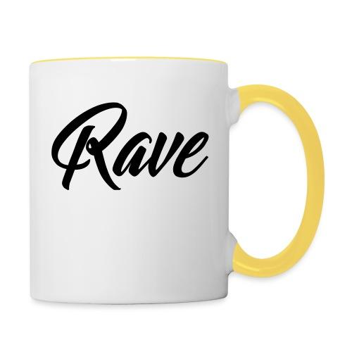 Rave - Tasse zweifarbig