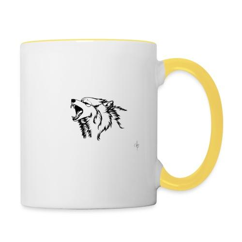 wolf - Tvåfärgad mugg