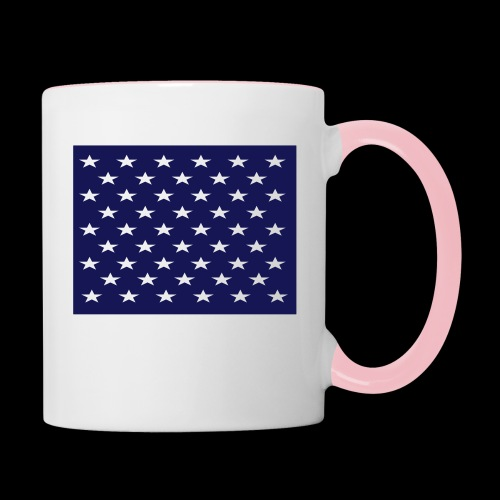 stars and stripes part1 - Contrasting Mug