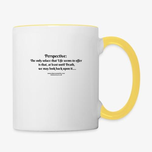 perspective T - Contrasting Mug