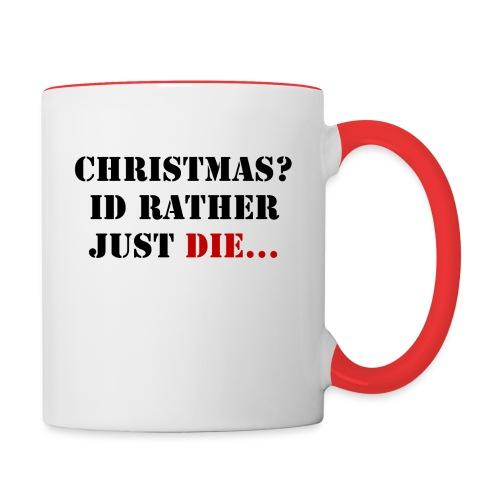 Christmas joy - Contrasting Mug