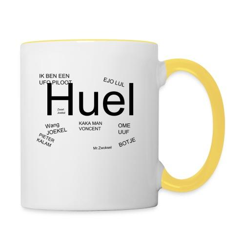 HUEL - Mok tweekleurig