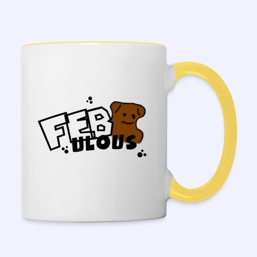 Febulous - Tasse zweifarbig