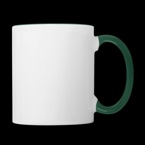 Ride or die (blanc) - Mug contrasté