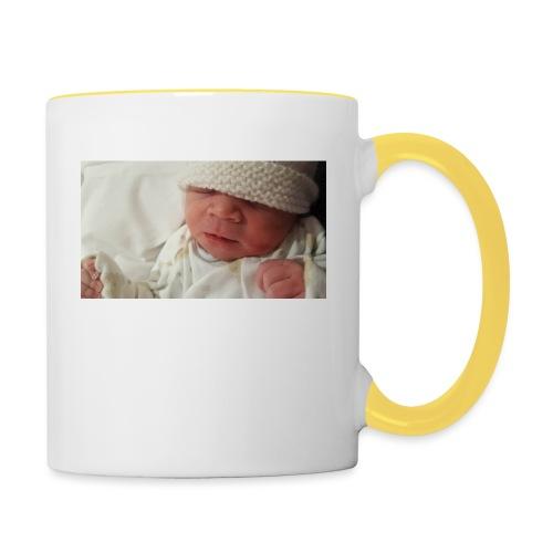 baby brother - Contrasting Mug