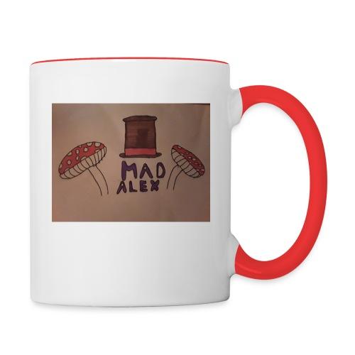 Mad Alex Logo - Contrasting Mug