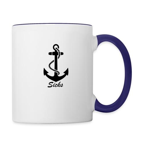 Sicks Logo Design - Tasse zweifarbig