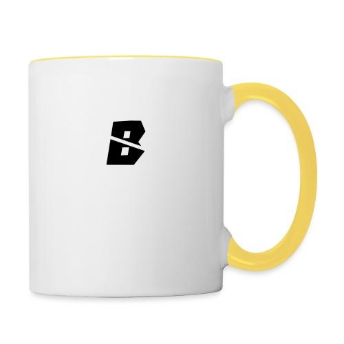 TeamBE8R-accessoires - Mok tweekleurig