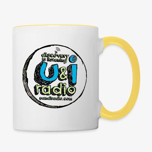 U & I Logo - Contrasting Mug