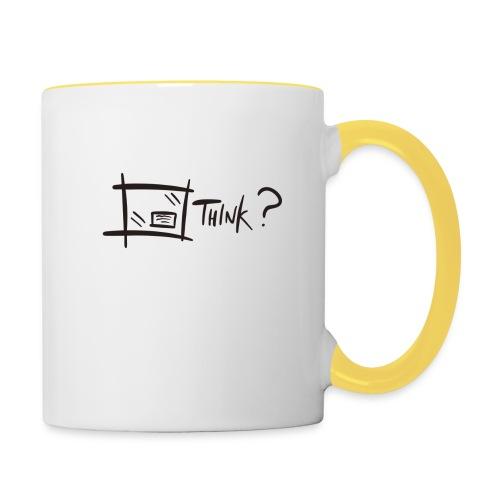 Think Outside The Box - Contrasting Mug