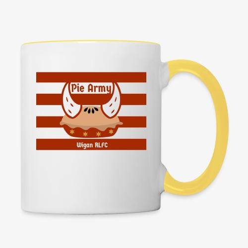 Pie Army - Contrasting Mug