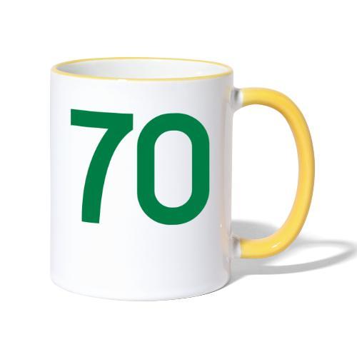 Football 70 - Contrasting Mug