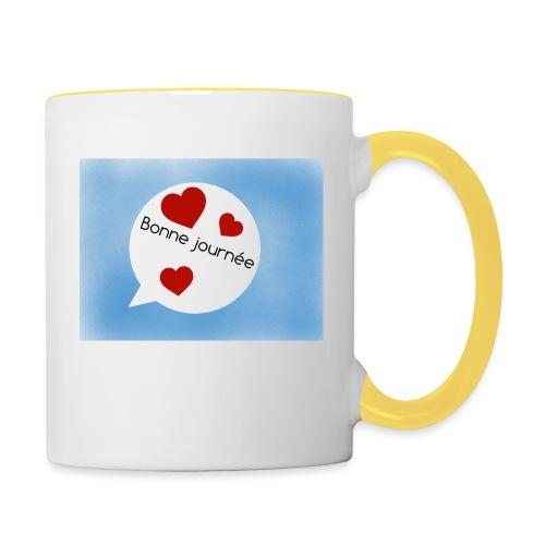 Bonne journée - Mug contrasté