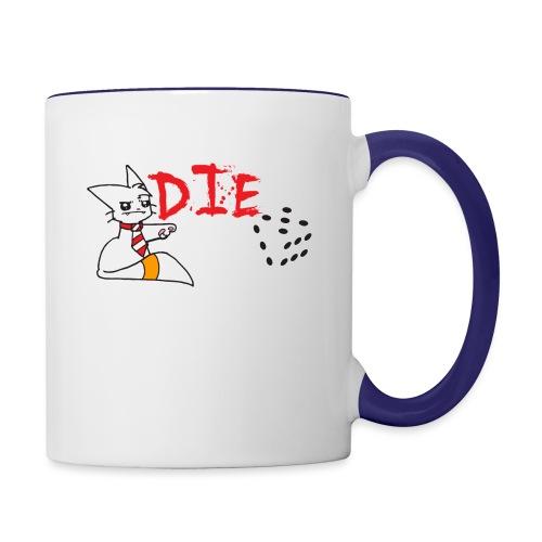DIE - Contrasting Mug
