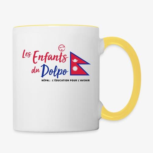 Les Enfants du Doplo - Grand Logo Centré - Mug contrasté