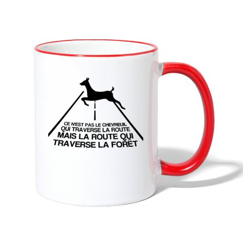 Chevreuil - Mug contrasté