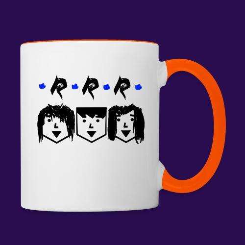 RRR - Heads - Tasse zweifarbig